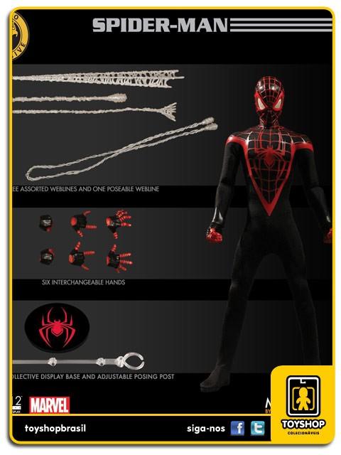 Marvel The Miles Morales Spider-Man SDCC One 12 Mezco