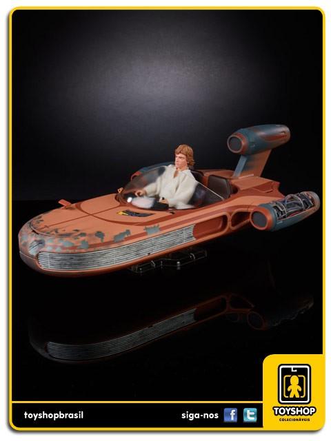 Star Wars The Black Series X-34 Landspeeder & Luke Skywalker SDCC Hasbro