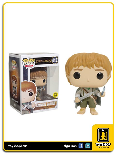 The Lord Of The Rings Samwise Gamgee Glows 445 Pop Funko