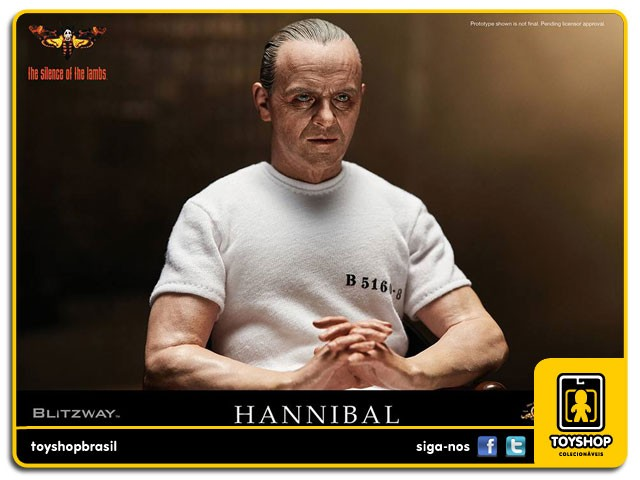 The Silence of the Lambs 1991 Hannibal Lecter White Prison Blitzway