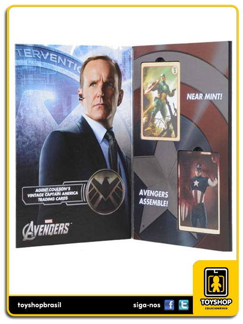 The Avengers: Agent Coulson Captain America Trading Card Set - Efx