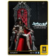 Space Pirate: Captain Harlock with Throne of Arcadia - Hot Toys