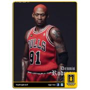 NBA: Dennis Rodman Chicago Bulls 1/6 - Enterbay