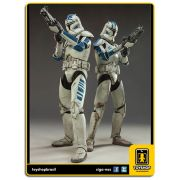 Star Wars: Clone Troopers Echo and Fives - Sideshow Collectibles