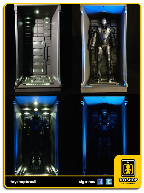 Iron Man 3: Hall of Armor - Hot Toys