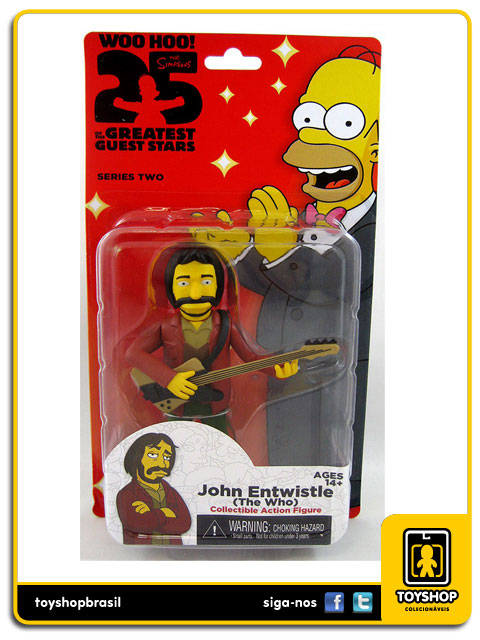 The Simpsons 25th Anniversary: The Who John Entwistle - Neca