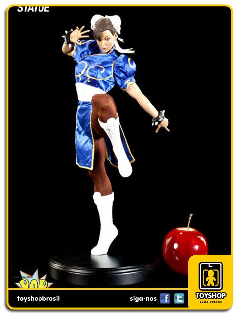 Street Fighter: Estátua Chun-Li Mixed Media - Pop Culture