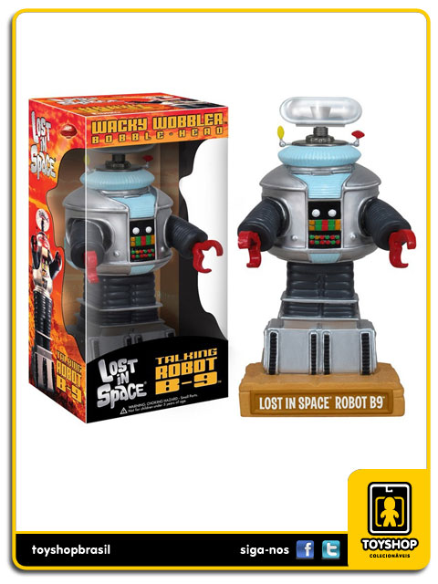 Lost in Space: Talking Robot B-9 Bobble Head - Funko