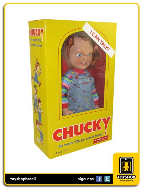 Child´s Play: Talking Chucky 38 cm - Mezco