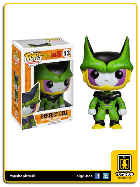 Dragon Ball Z: Perfect Cell Pop - Funko