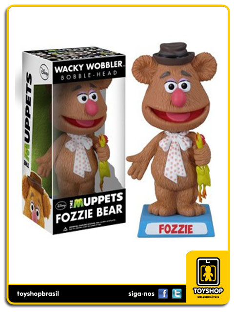 The Muppets: Fozzie Bobble Head - Funko