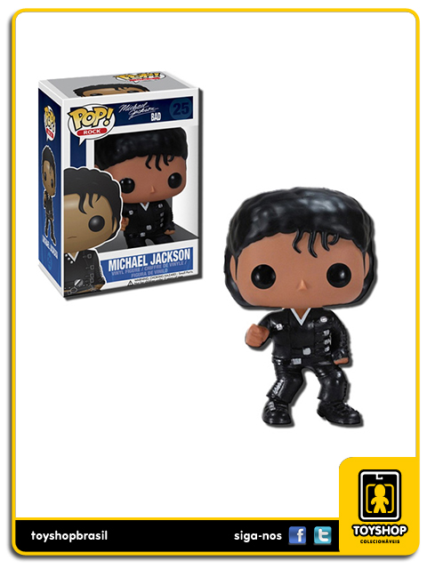 Michael Jackson: Bad Pop - Funko