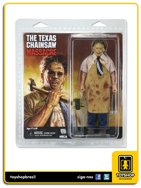 The Texas Chain Saw Massacre: Leatherface 8´ Retro - Neca