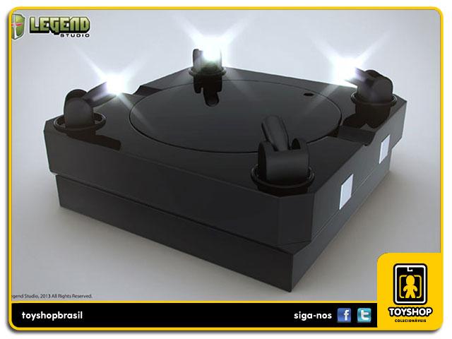 Master Light Revolving Stage Display Black - Legend Studio
