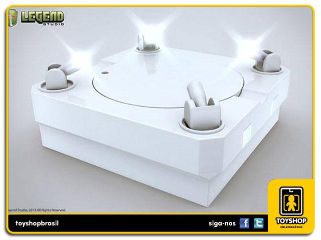 Master Light Revolving Stage Display White - Legend Studio