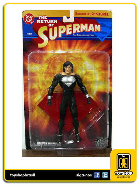 Return of Superman: Kryptonian Life Suit Superman - Dc Collectibles