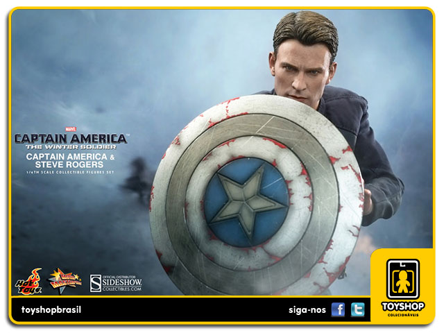 The Winter Soldier: Captain America & Steve Rogers EX - Hot Toys