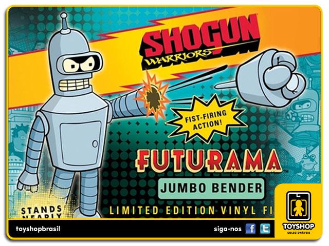 Futurama: Bender Shogun Warriors 60 cm - Toynami