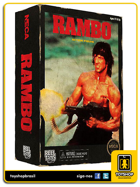Rambo: Rambo Classic Video Game - Neca