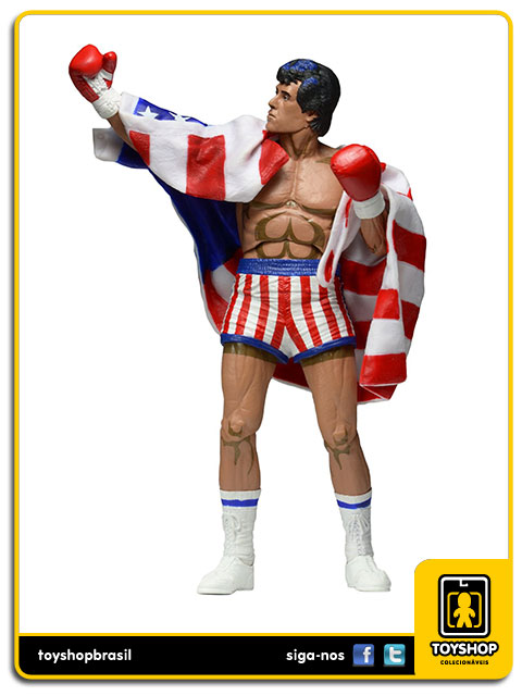 Rocky: Rocky Balboa Classic Video Game - Neca