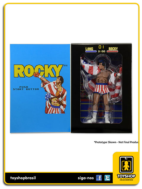 Rocky: Rocky Balboa Classic Video Game - Neca