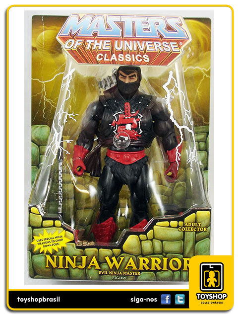 Masters of the Universe Classics: Ninja Warrior - Mattel
