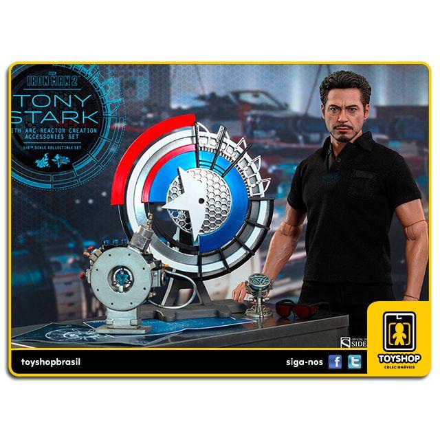 Iron Man 2: Tony Stark with Arc Reactor Creation - Hot Toys