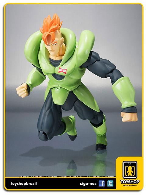 Dragon Ball Z S.H. Figuarts: Android 16 - Bandai