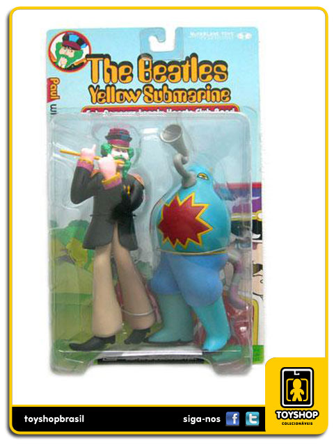 The Beatles Yellow Submarine: Paul with Sucking Monster - Mcfarlane