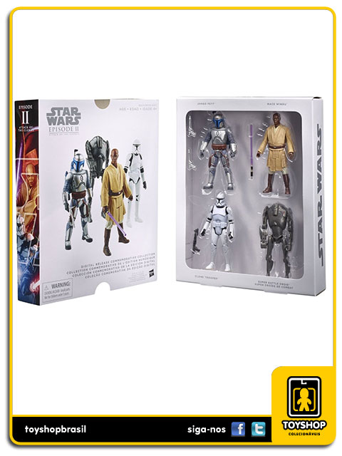 Star Wars Digital Collection: Attack of the Clones - Hasbro