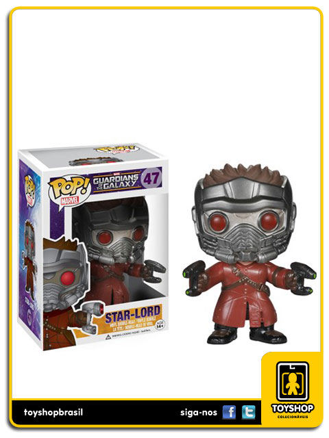 Guardians of the Galaxy Star Lord Pop Funko