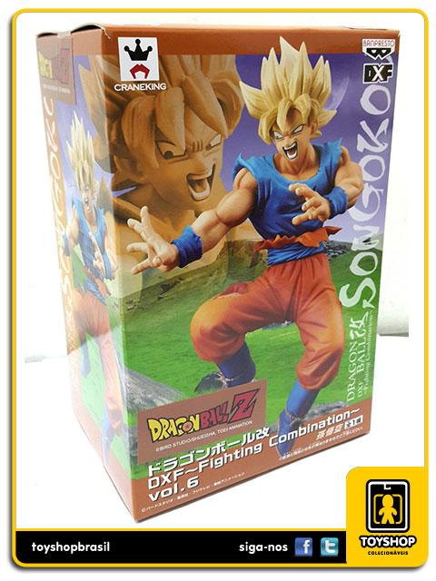 Dragon Ball Z DXF Fighting Combination: Son Goku - Banpresto