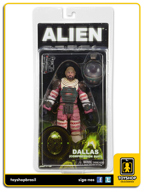 Alien: Dallas Compression Suit - Neca
