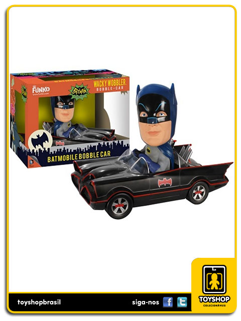 Batman Classic TV Series: Batmobile Bobble Car - Funko