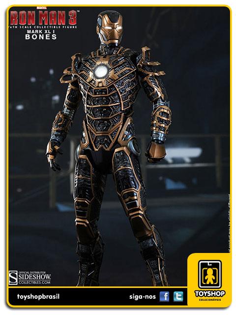 Iron Man 3: Iron Man Mark XLI Bones - Hot Toys