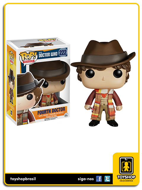 Doctor Who: Fourth Doctor Pop - Funko