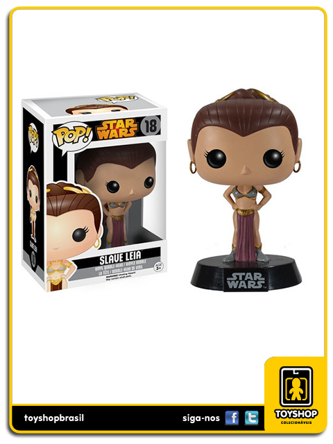 Star Wars: Slave Leia Pop - Funko