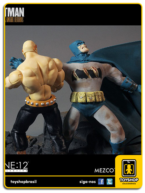 The Dark Knight Returns: Mutant Leader vs Batman - Mezco
