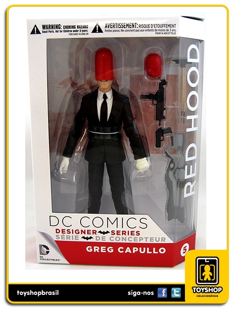 Designer Series: Red Hood Greg Capullo - DC Collectibles