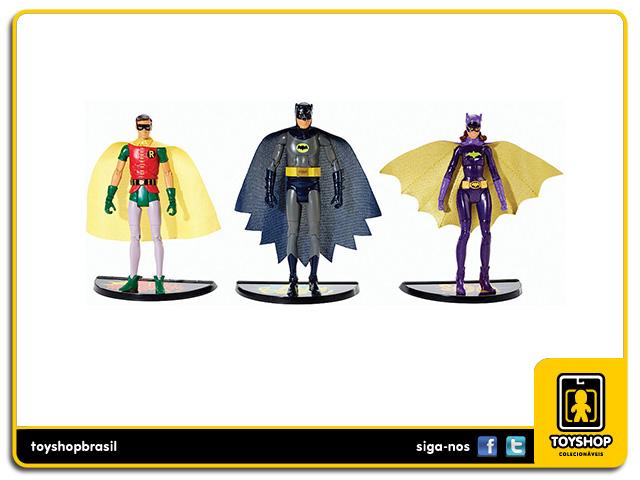Batman Classic TV Series: Batman, Robin & Batgirl - Mattel