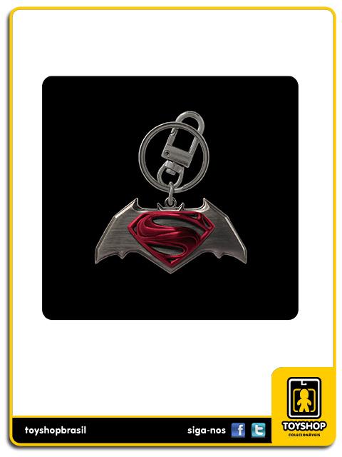 Batman v Superman: Pewter Keyring Box Set - Monogram