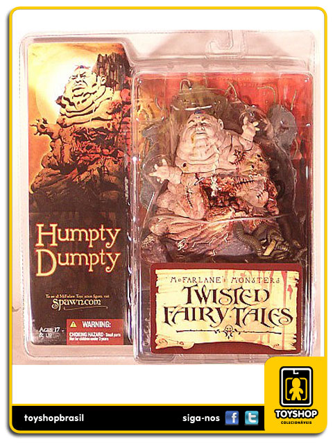 Twisted Fairy Tales: Humpty Dumpty - McFarlane