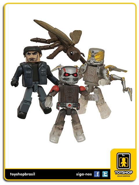 Marvel Minimates: Ant-Man 4-Pack - Diamond