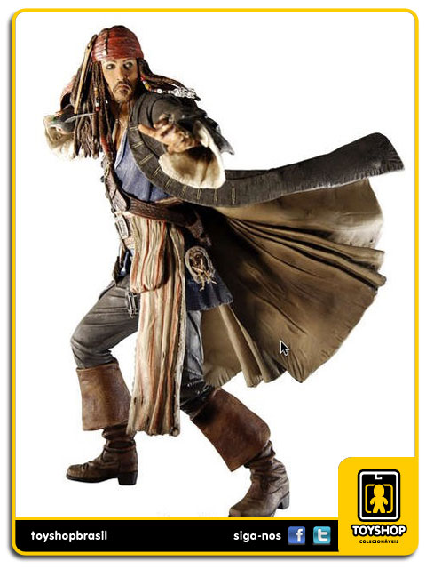 Pirates of the Caribbean: Capt. Jack Sparrow - Neca