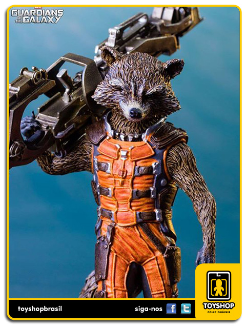Guardians of the Galaxy: Rocket Raccoon 1/10 - Iron Studios
