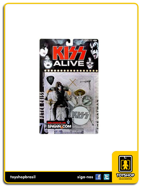 Kiss Alive : Peter Criss - Mcfarlane