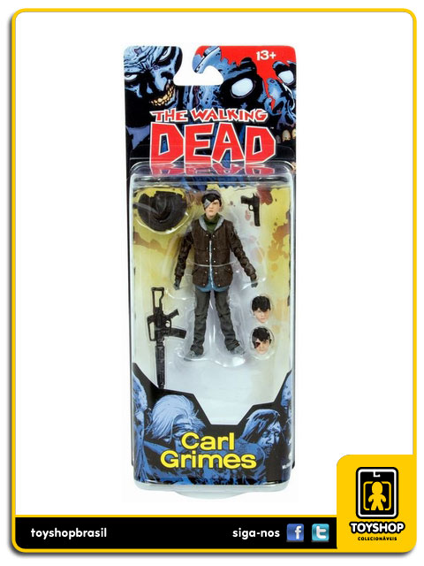The Walking Dead Comic Book 4: Carl Grimes - Mcfarlane