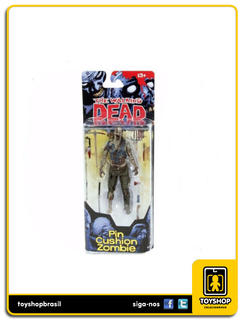 The Walking Dead Comic Book 4: Pin Cushion Zombie - Mcfarlane