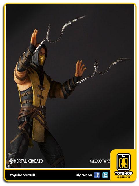 Mortal Kombat X: Scorpion - Mezco