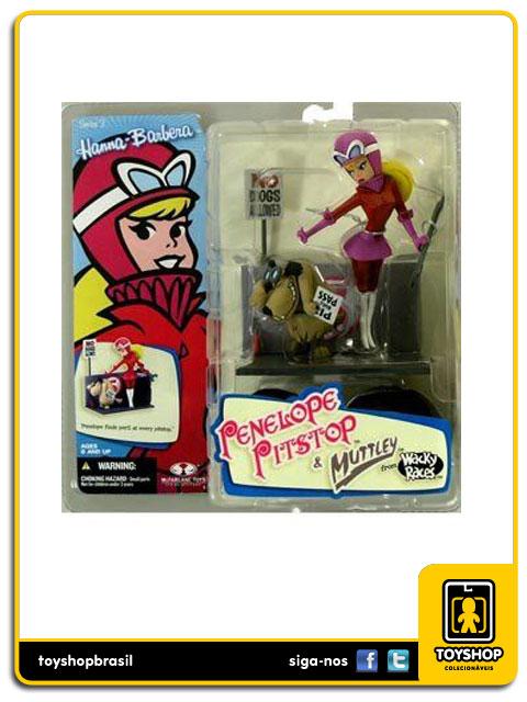 Hanna Barbera: Penelope Pitstop & Muttley - Mcfarlane
